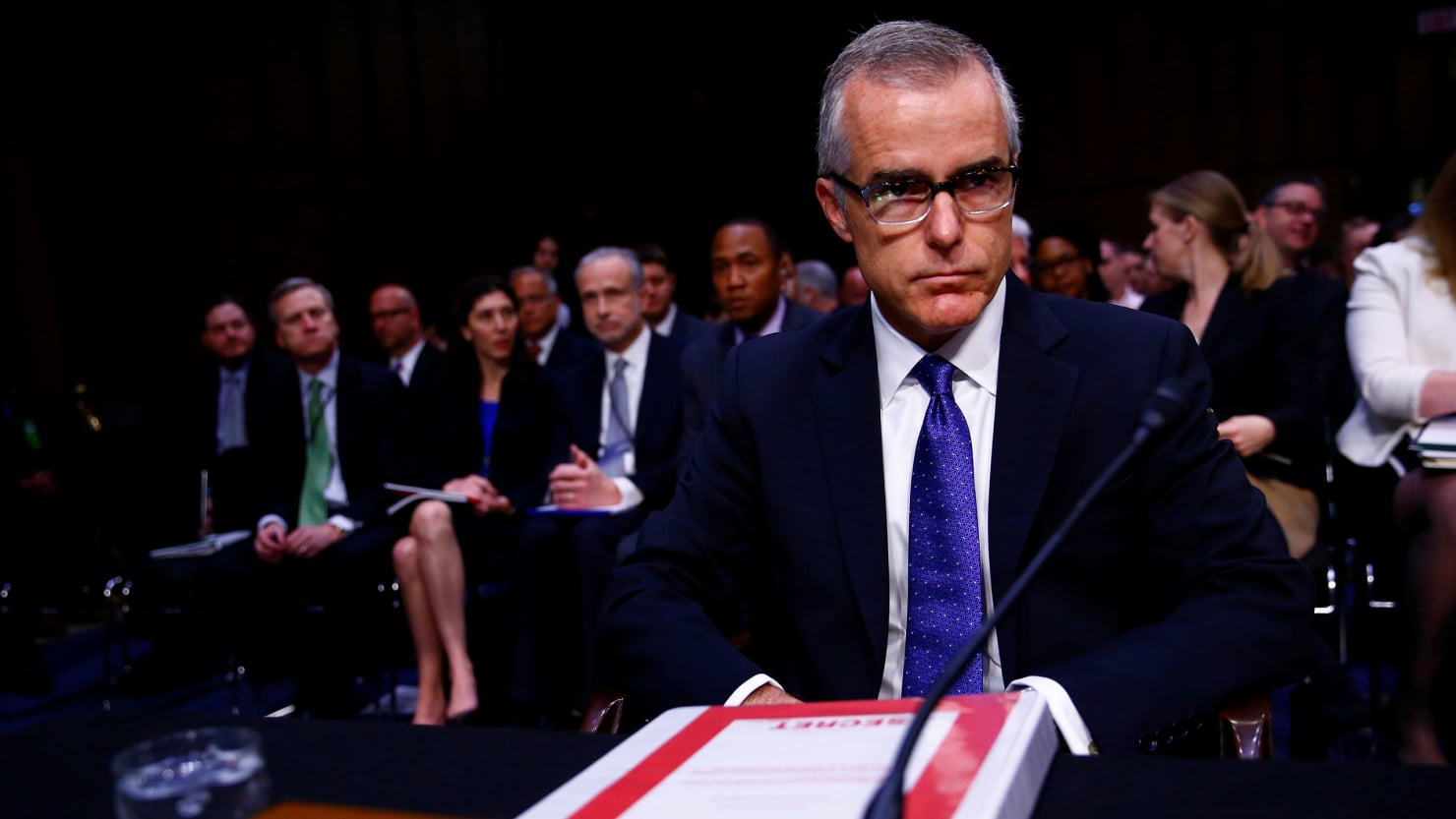 McCabe legal defense fund raises nearly 400K in less than a day