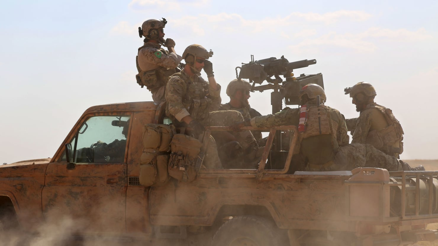 Were Entering A New And Dangerous Phase US Soldier Killed In Syria