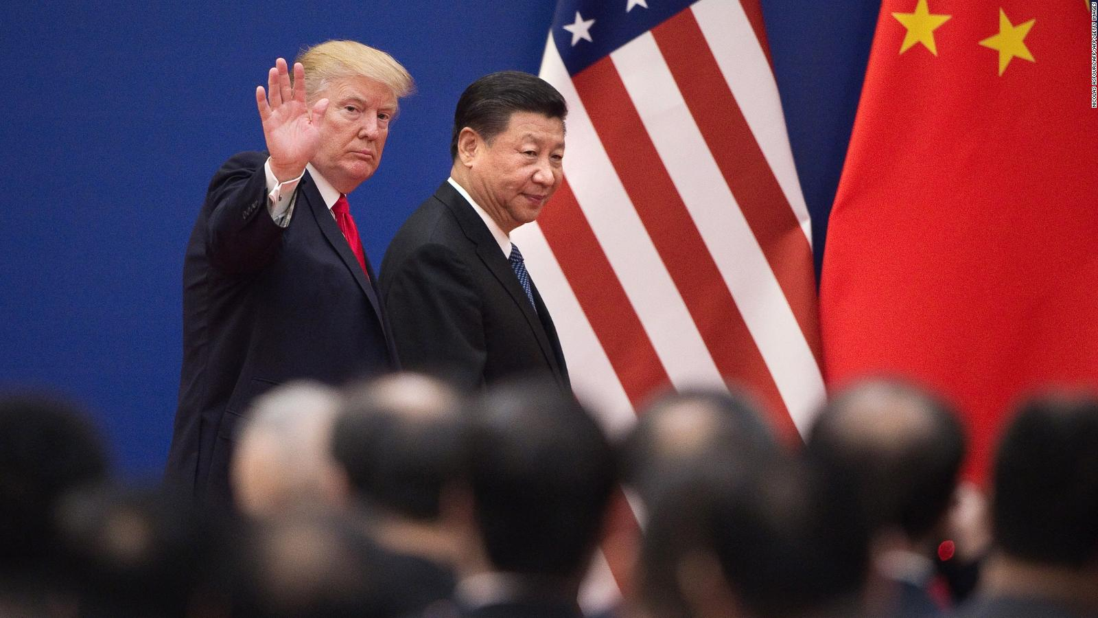 China strikes back at Trump threatens tariffs on US products