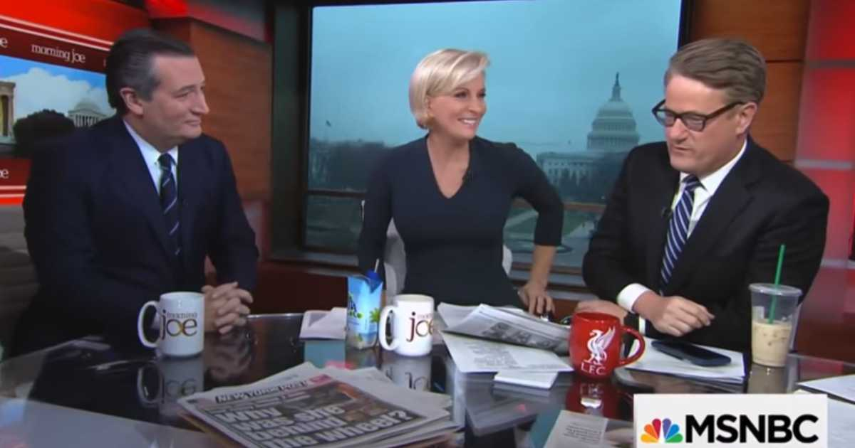 WATCH Scarborough Tries To Lecture Ted Cruz On Guns Gets Embarrassed