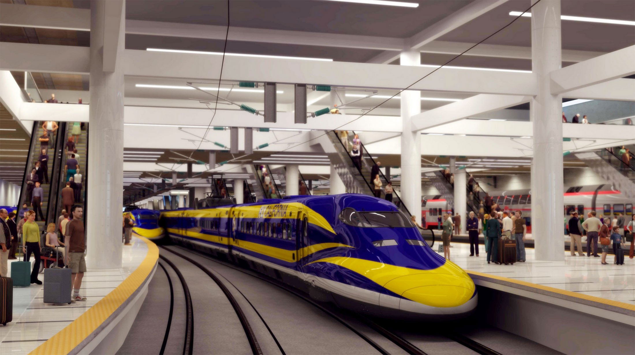 Cost of Californias Bullet Train Hits 98 Billion Due to Spiking Tunnel Costs