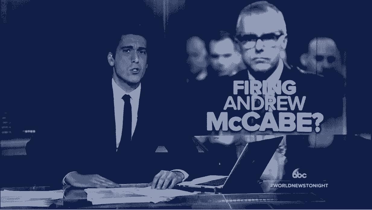 NBC Ignores Report McCabe Misled Investigators ABC Frets for His Pension VIDEO