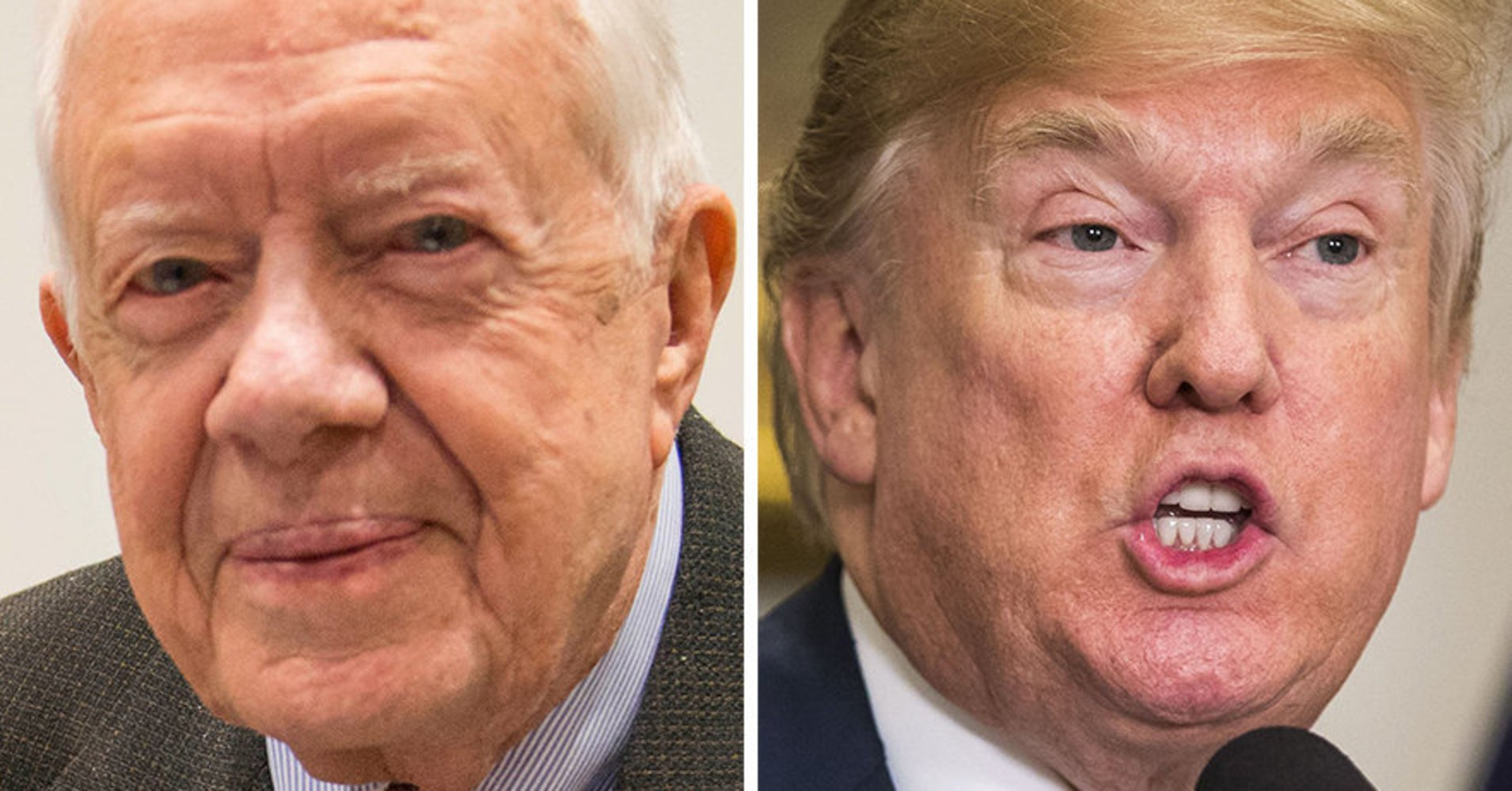 Jimmy Carter suggests the US wanted a jerk in the White House