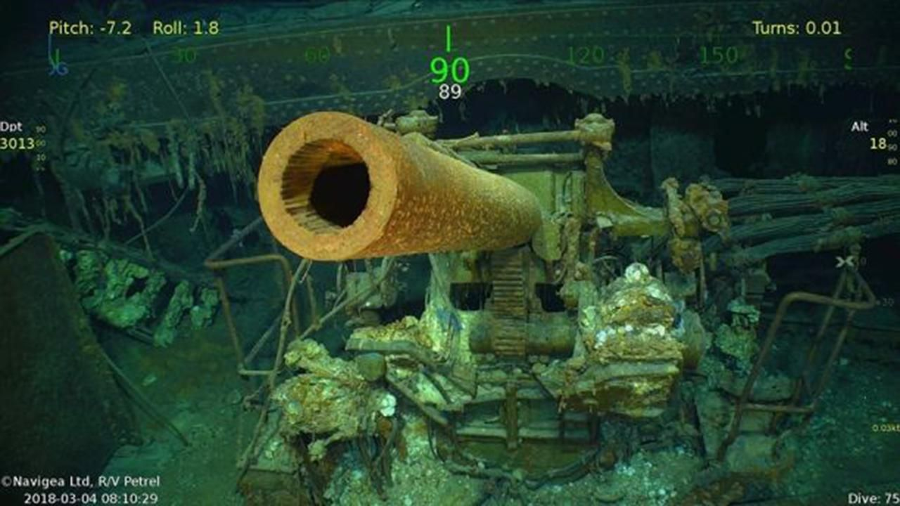 USS Lexington discovered by billionaire Paul Allens crew 76 years after WWII sinking VIDEO