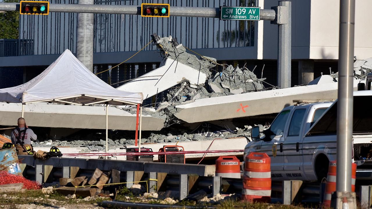 Companies behind Florida bridge collapse have history of fines failures lawsuits