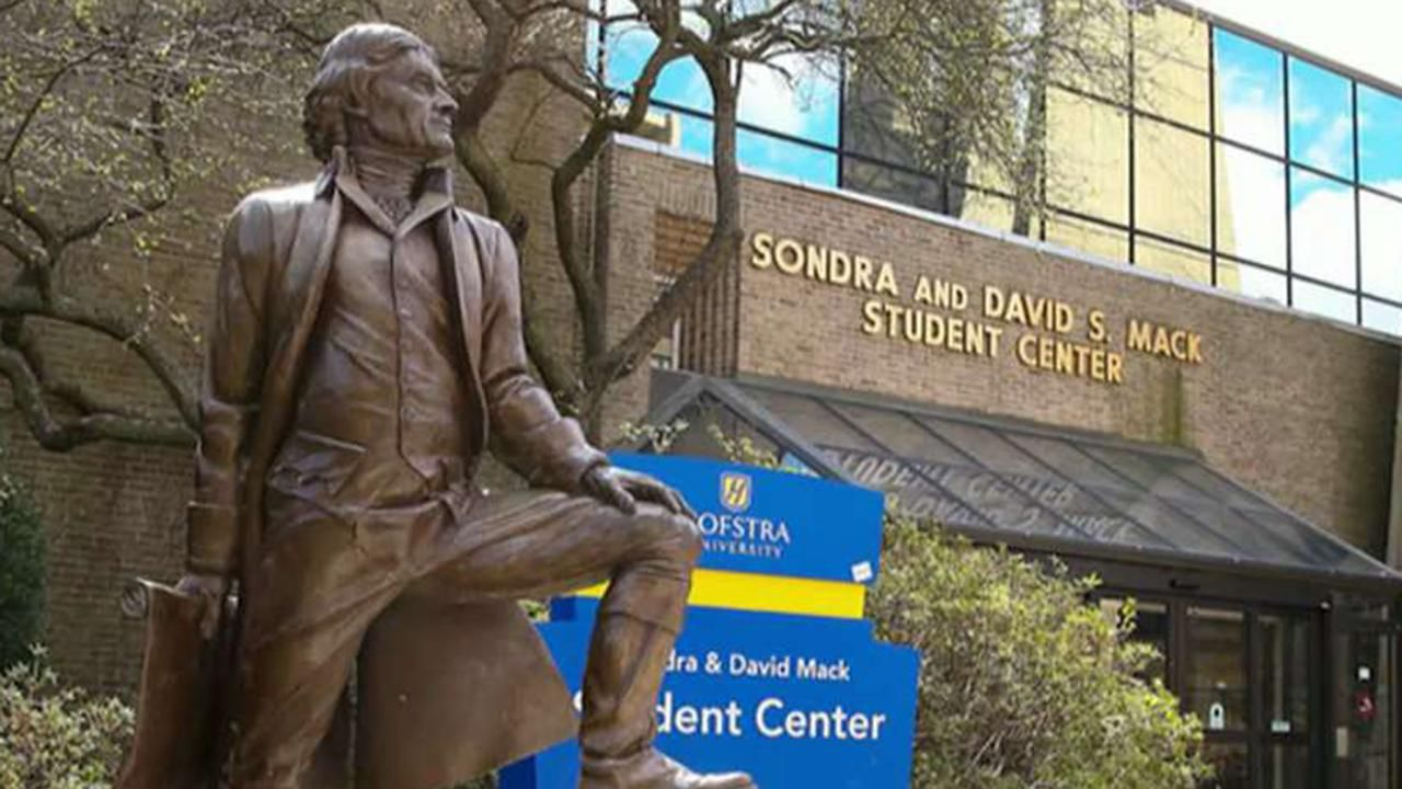 Hofstra activists want to remove Thomas Jefferson statue