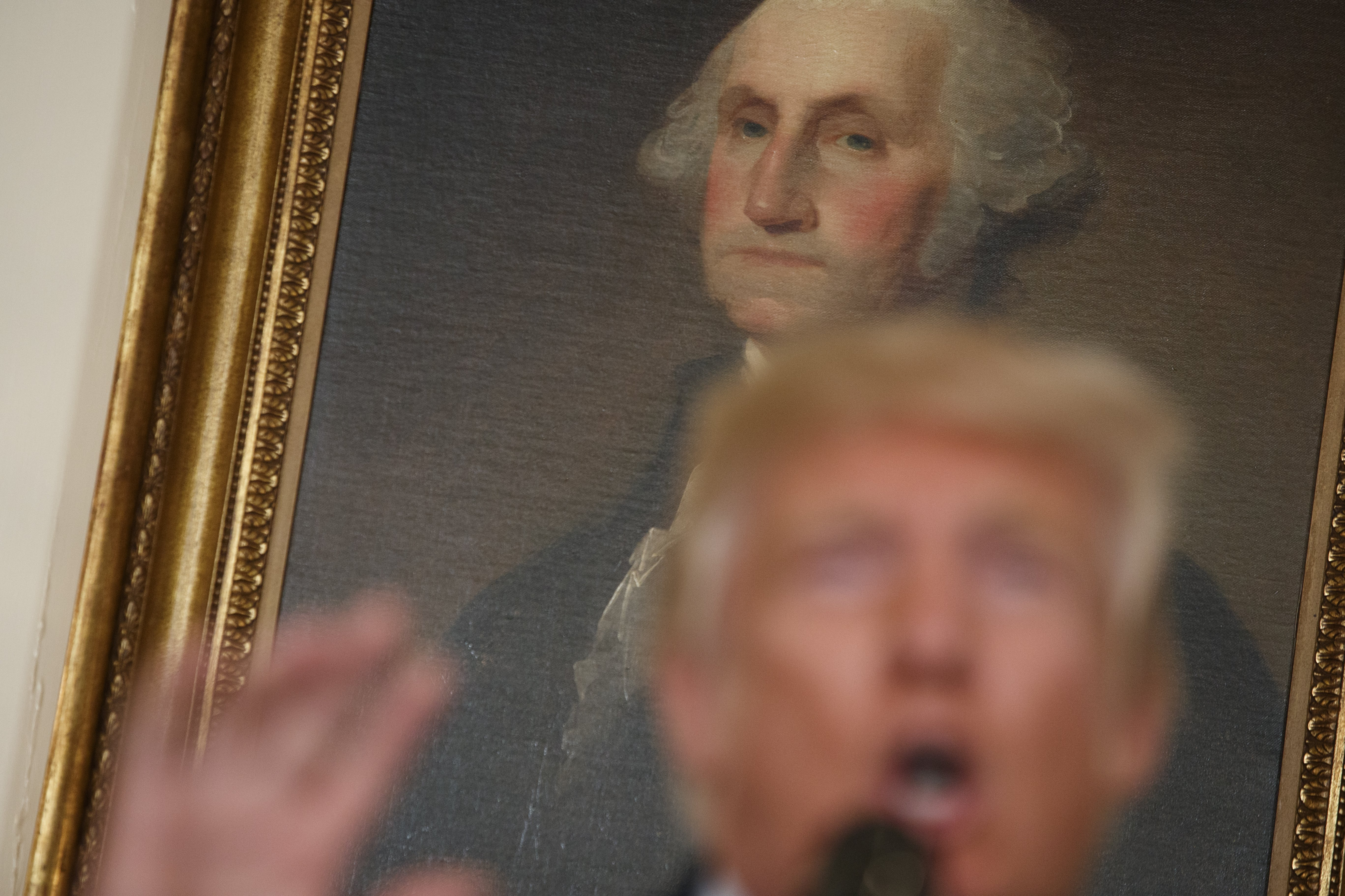 Trump signs bill banning tax dollars for portraits of government officials