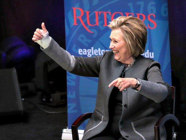 Hillary Clinton Explains Why She Will Not Get Off the Public Stage and Shut Up