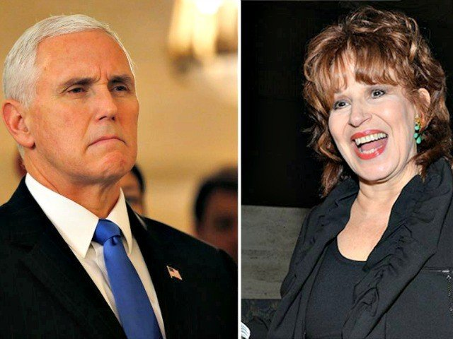 ABC News star Joy Behar finally apologizes for antiChristian remarks Vice President Pence is right VIDEO