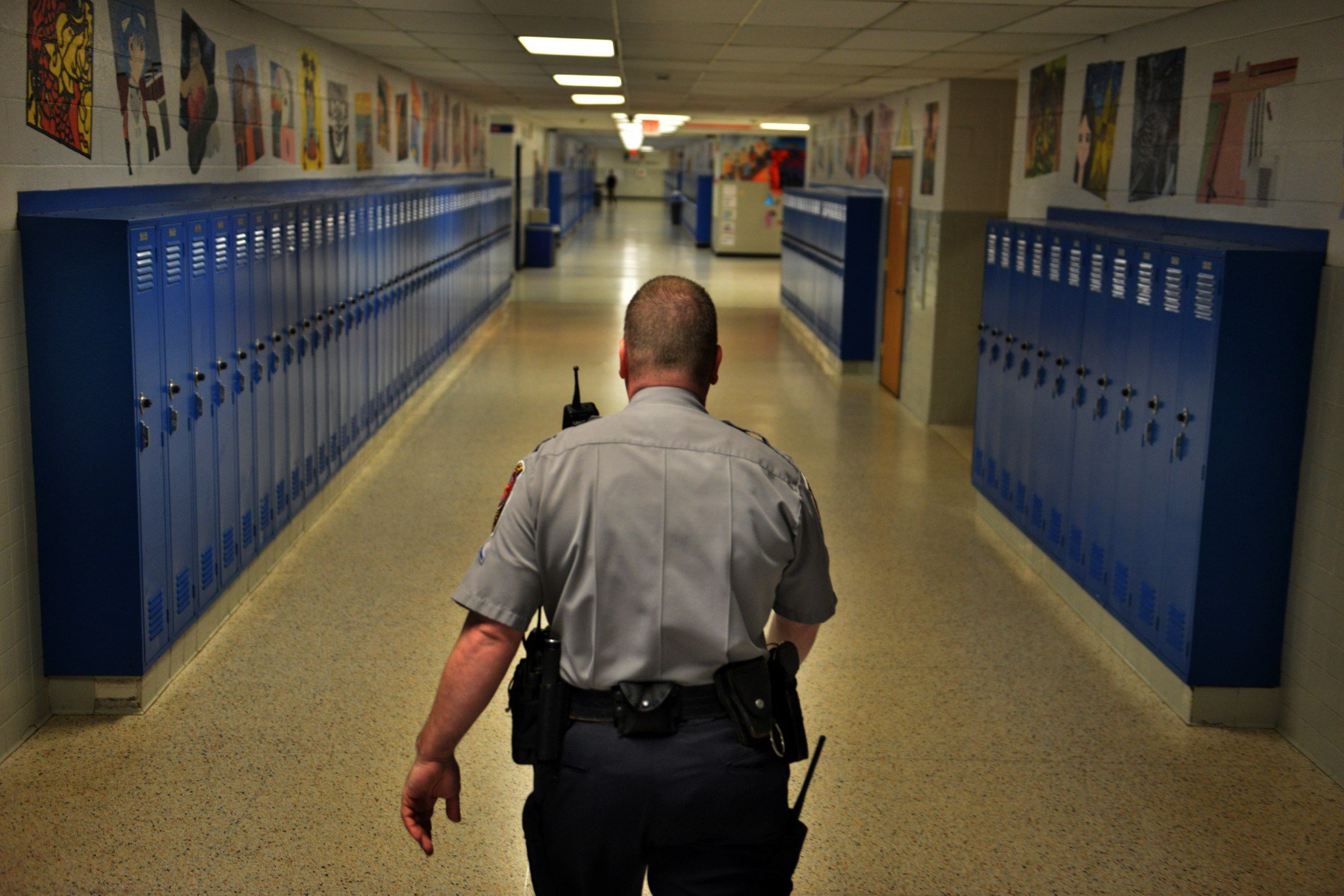 Pennsylvania School District Backtracks Will Now Deploy Armed Guards Instead Of Buckets Of Rocks