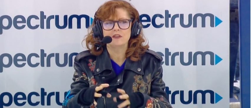 WATCH Susan Sarandon Tries To Call RangersPenguins Game It Didnt Go Well At All
