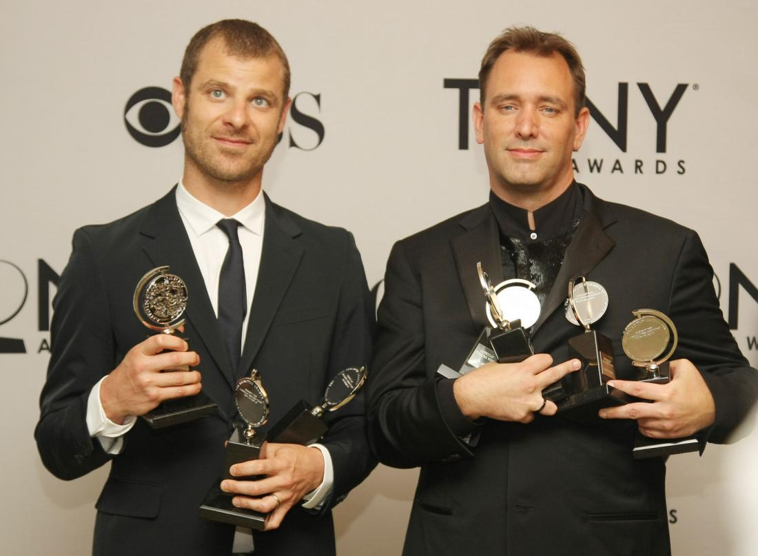 South Park creators receive award from liberal group  and shock the audience with admission