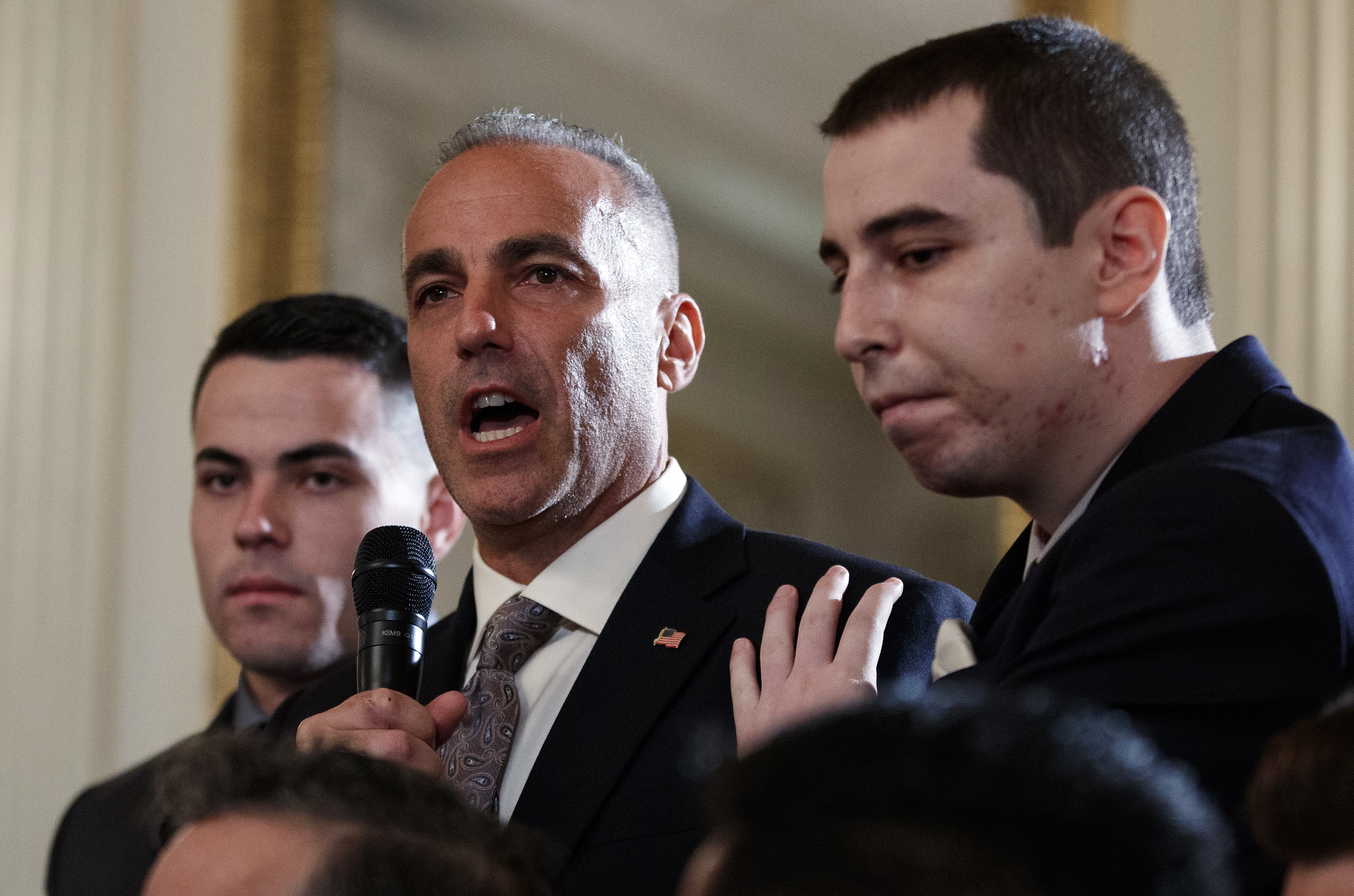 Father of Slain Parkland Student Explodes on Deputy After Release of Video Hes a Coward VIDEO