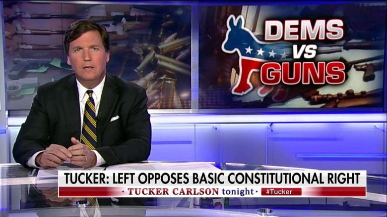 Tucker Carlson warned that a Democratic takeover of Congress, be it in 2018 or thereafter, could have crippling effects on Americans' constitutional right to keep and bear arms. WATCH: Watch the latest video at video.foxnews.com Carlson said President Trump appears to have since moderated since his own consideration of confiscating guns prior to awarding subjects …