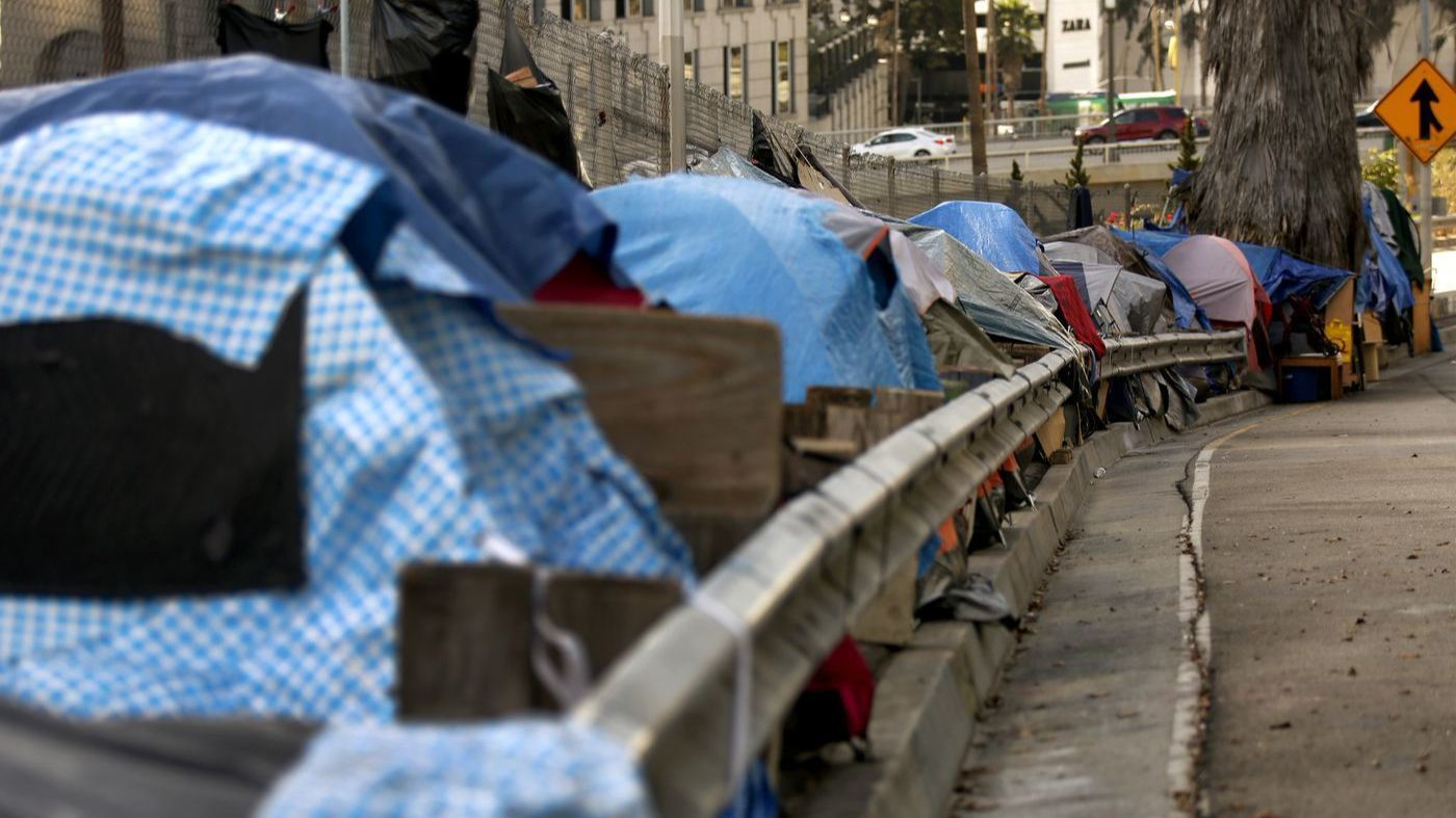Needles debris human waste tallied after cleanup of California homeless camp