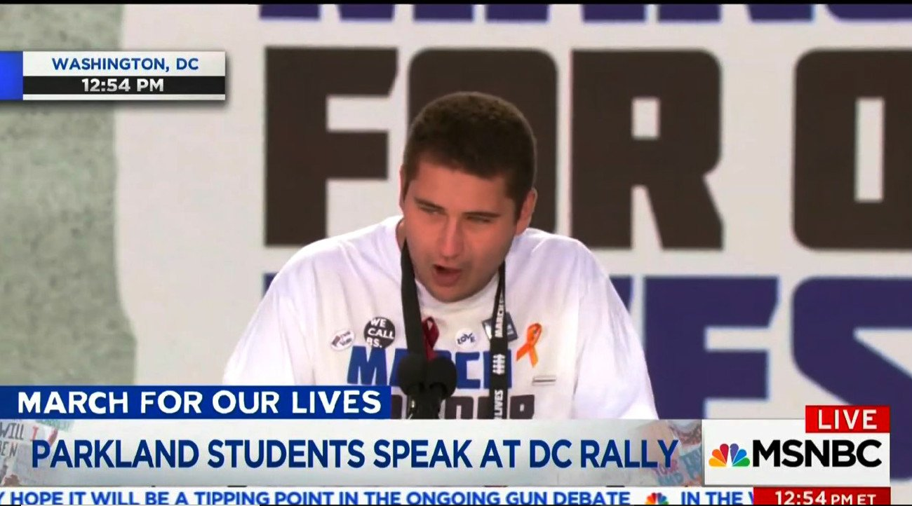 Parkland Survivor Goes Off If You Take Money From the NRA You Have Chosen Death VIDEO