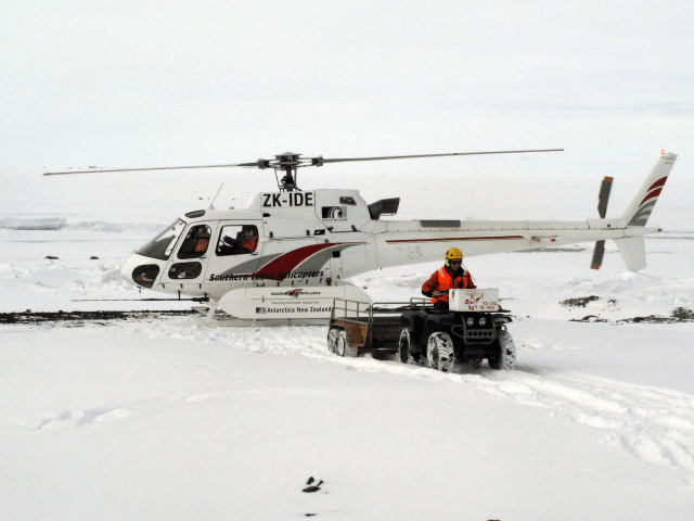 More Climate Scientists Rescued from Polar Ice