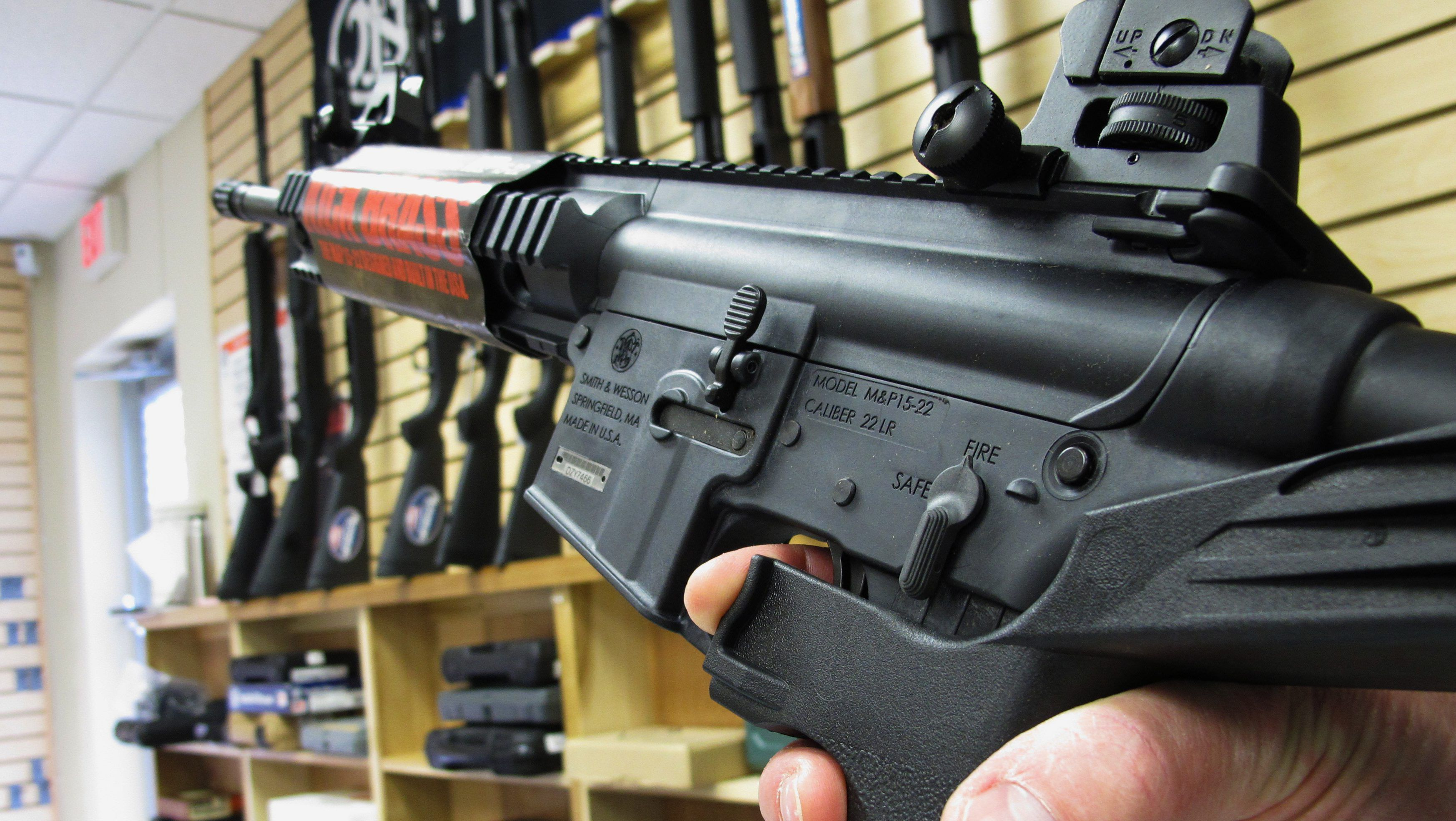 Justice Department moves to officially ban bump stocks classifies them as machine guns