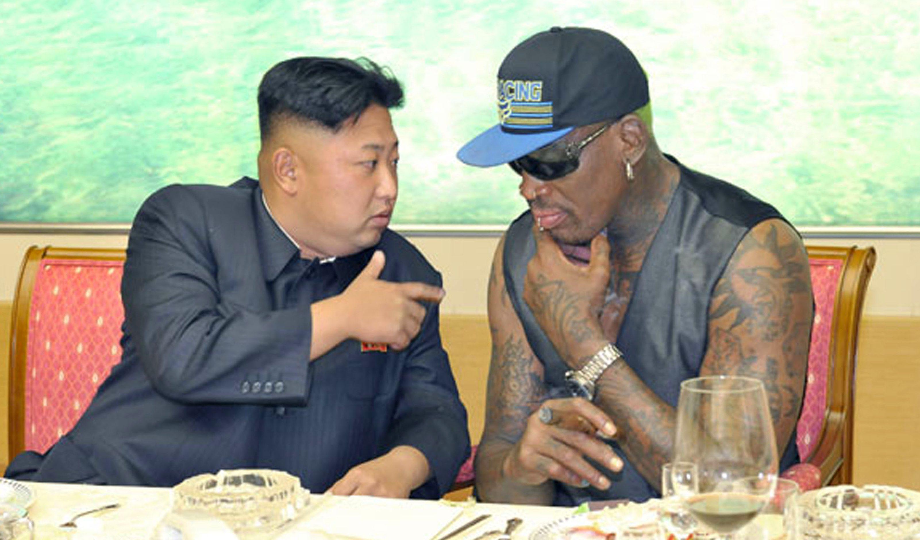 Dennis Rodman I hope Kim Jong Un wears a Make America Great Again hat after meeting Trump