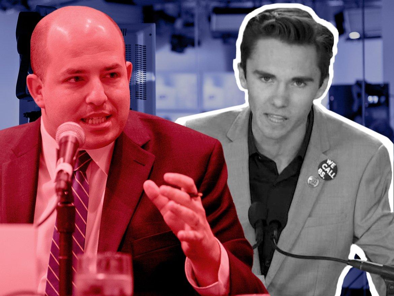 WATCH CNNs Stelter Admits He Let David Hogg Get Away With Lies About Guns NRA
