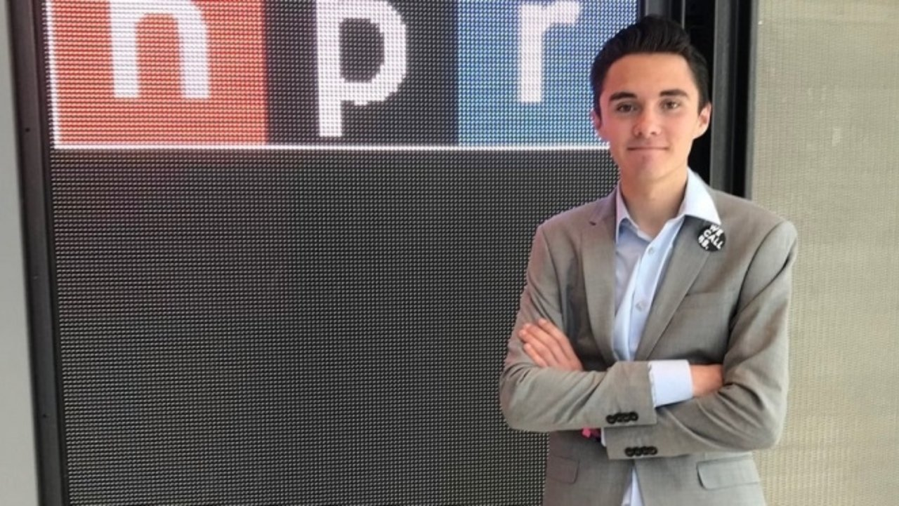 NPR Lets David Hogg Slam Opponents as Old People Dying Off on the Wrong Side of History
