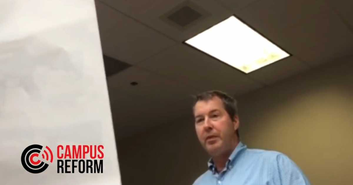 On Thursday, Campus Reform's Nikita Vladimirov uploaded avideoin which volunteers at a Turning Point USA booth at the University of Houston, Clear Lake, are approached by assistant professor of microbiology,Michael LaMontagne. In the video, LaMontagne engages in a peculiar exchange with the students: LAMONTAGNE: … create division, that you're probably receiving Russian funding. MALE TPUSA …