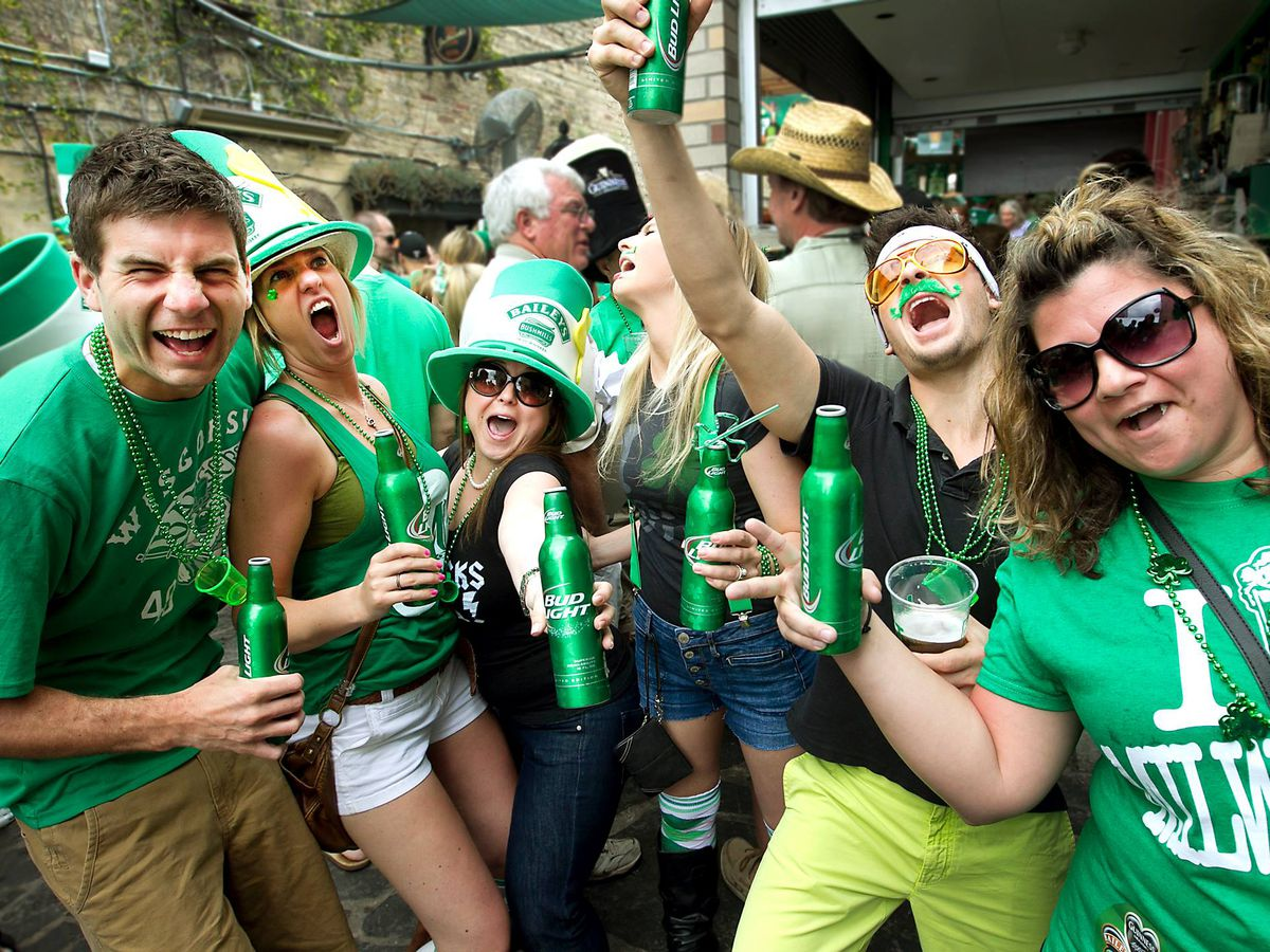 Cultural Appropriation on Saint Paddys Day Interviews Leave PC Libs Stumped VIDEO