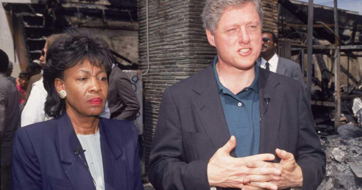 WATCH Maxine Waters INSANE Speech During Bill Clintons Impeachment
