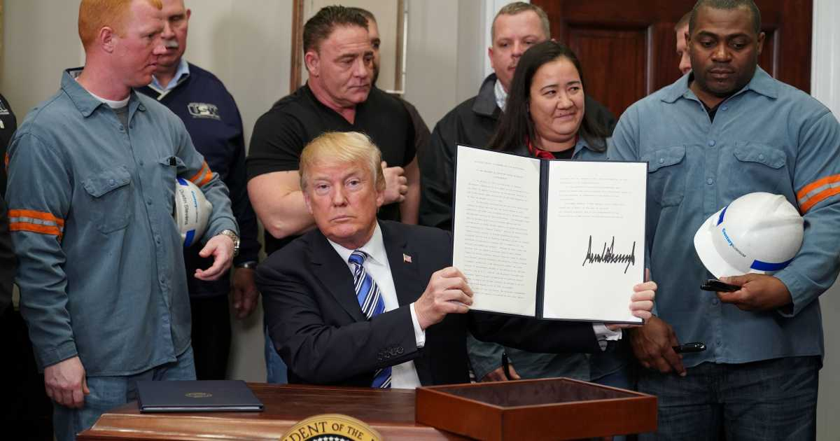 Trump Signs Wonderfully Flexible Tariff Plan To End Assault On American Workers