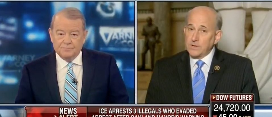 Gohmert Sanctuary Cities Are Essentially Seceding From The Union VIDEO
