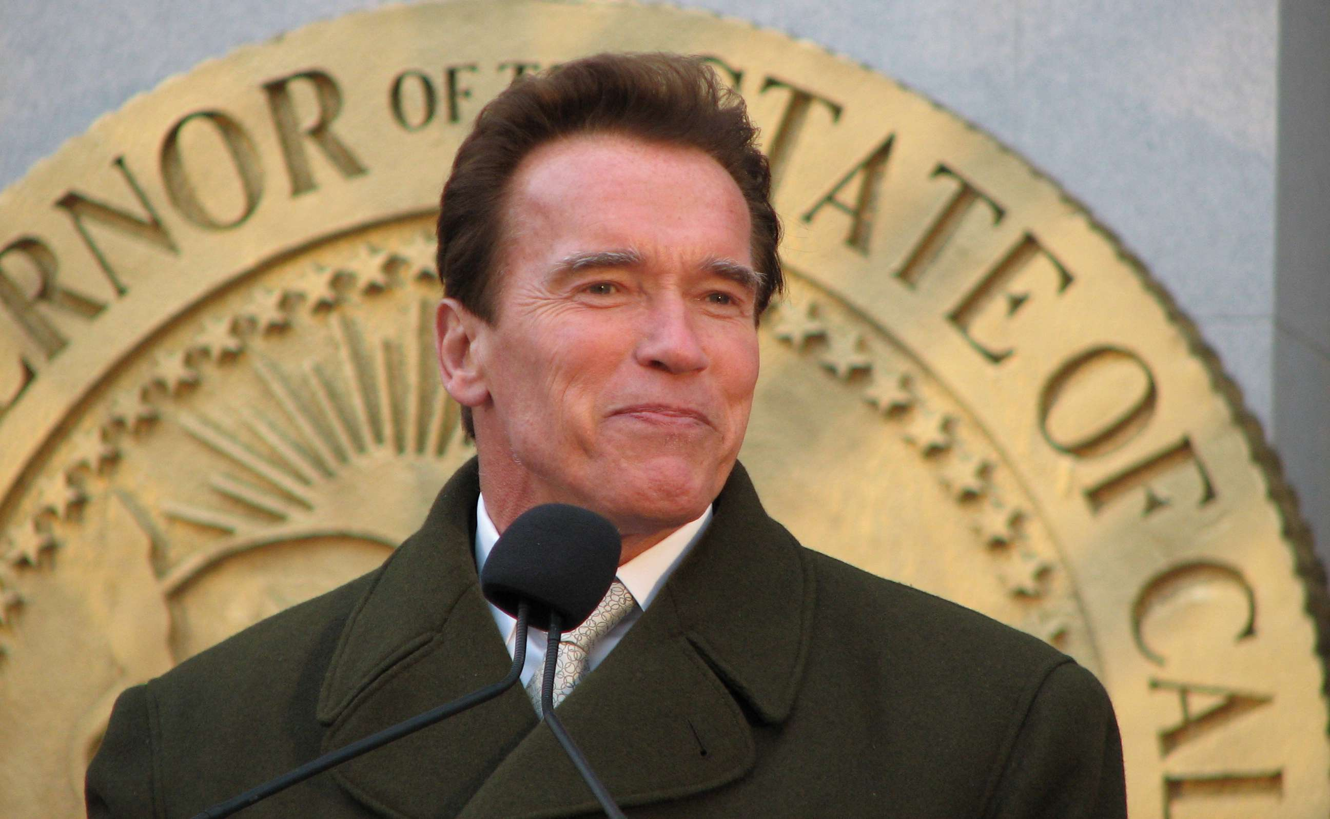 Arnold Schwarzenegger says Im back listed as stable after heart surgery