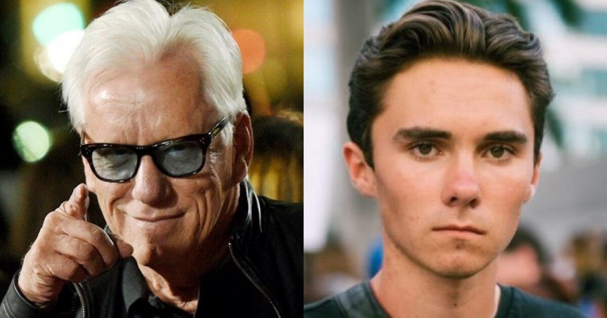 James Woods Burned David Hogg So Badly That Hoggs Pic Came Off of Twitter