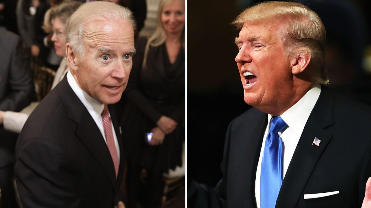 Trump fires back at Crazy Joe Biden He would go down fast and hard crying all the way