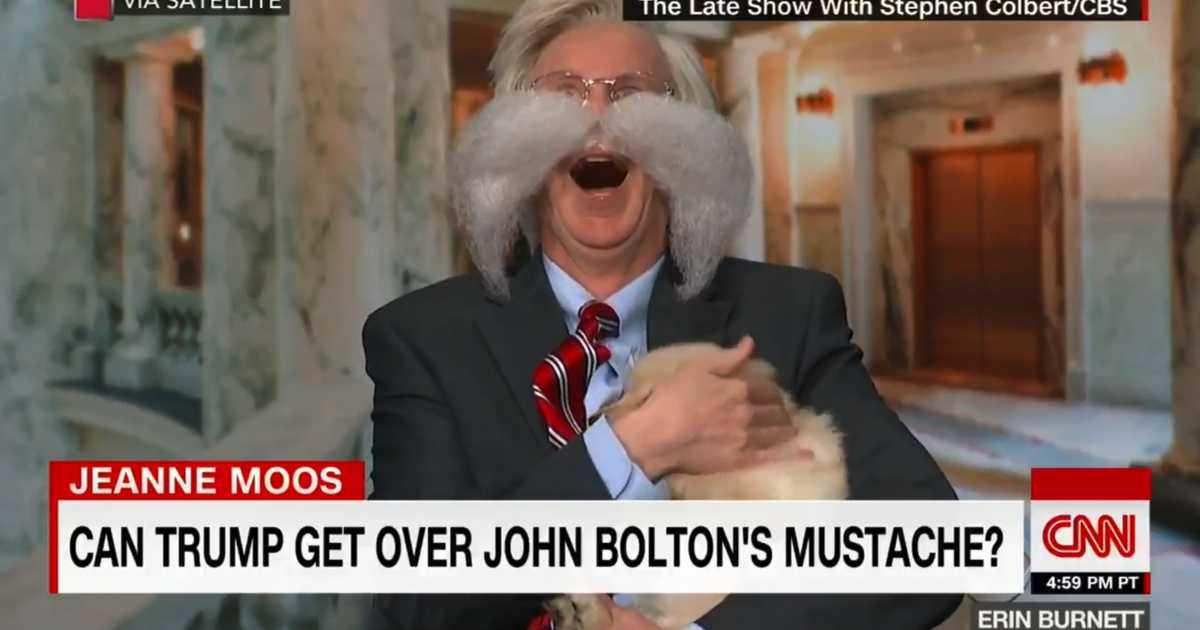 WATCH CNN Runs Cringe Worthy Segment Mocking John Boltons Appearance