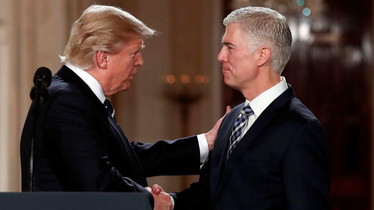 Joe Biden Most damaging part of Trumps presidency was naming Neil Gorsuch to Supreme Court