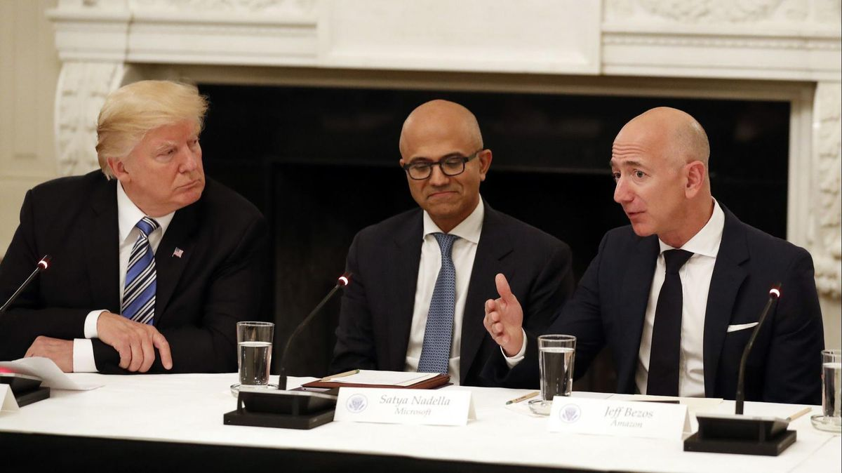 Donald Trump Blasts Amazon for Putting Retailers Out of Business