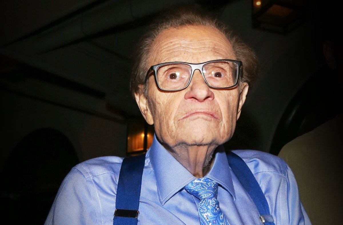 Larry King Time to Repeal the Poorly Written Second Amendment