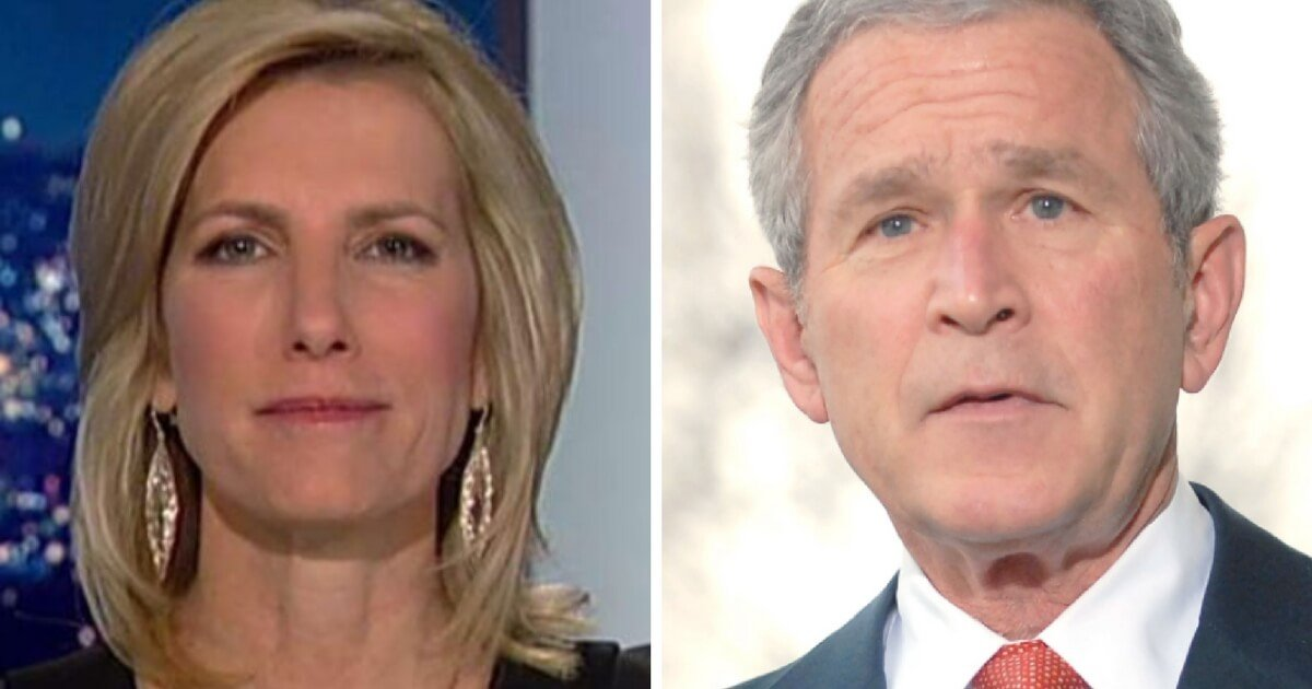WATCH Laura Ingraham Just Made George W Bush Regret Attacking Trump Calling Himself Pretty Good