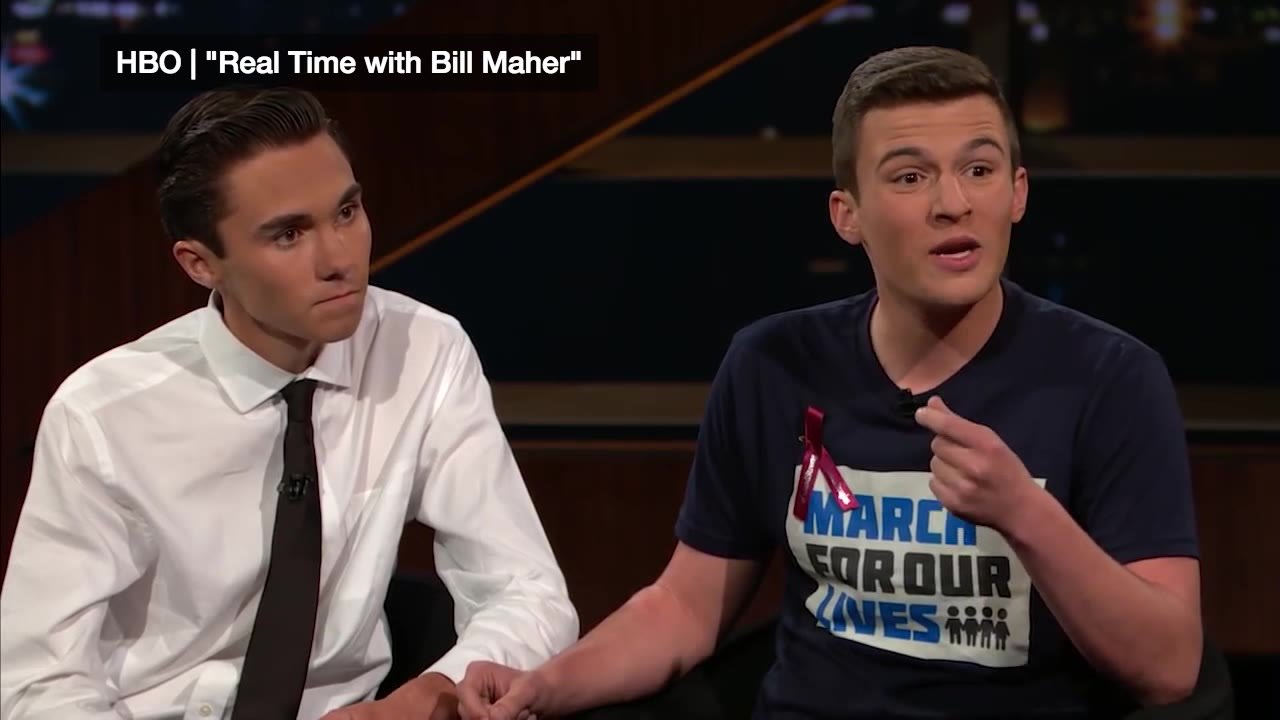 Illinformed Parkland students join Bill Maher to trash NRA and White House We are the experts VIDEO