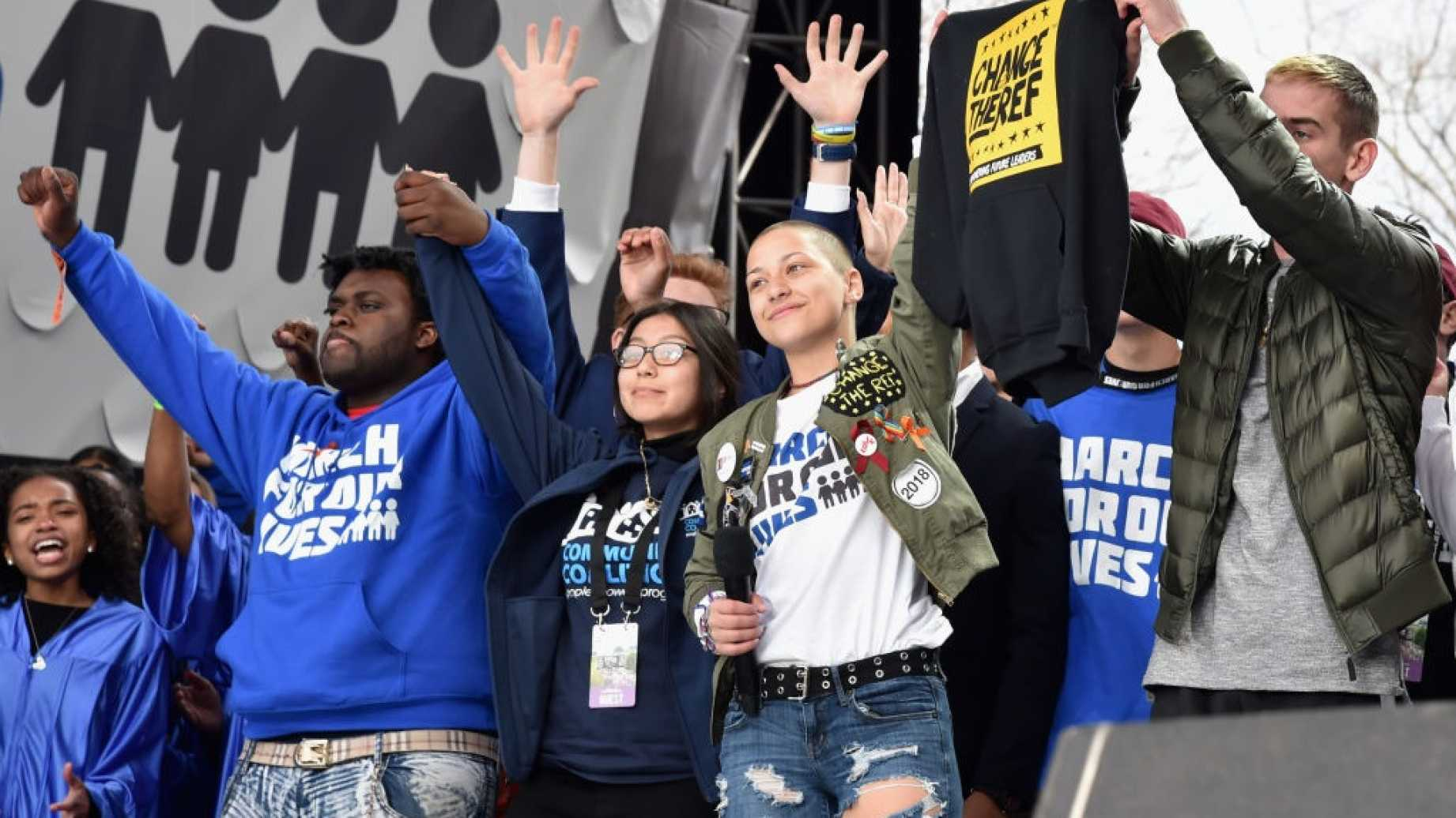 Most Of The March For Our Lives Protesters Werent Young  And Most Werent Motivated By Gun Control