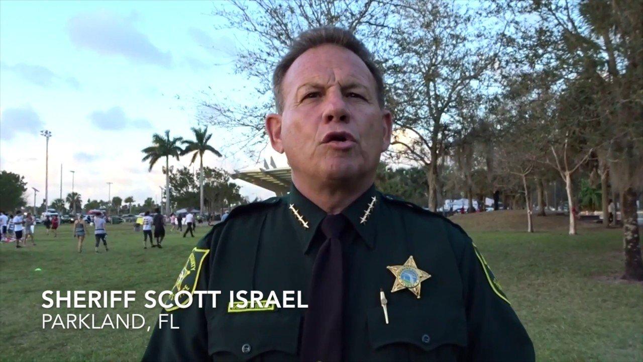 WATCH Broward Sheriff Attends Democrat Meetings Taunts Reporter Demanding Answers