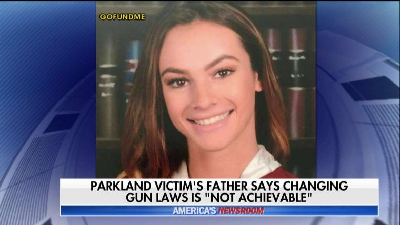 Father of Parkland Victim Gun Control Is Not Achievable Focus on School Safety VIDEO