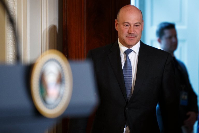 "Gary D. Cohn, President Trump's top economic adviser, plans to resign, becoming the latest in a series of high-profile departures from the Trump administration, White House officials said on Tuesday. White House confirms: Gary Cohn is leaving his job. ""It has been an honor to serve my country and enact pro-growth economic policies…I am grateful …"