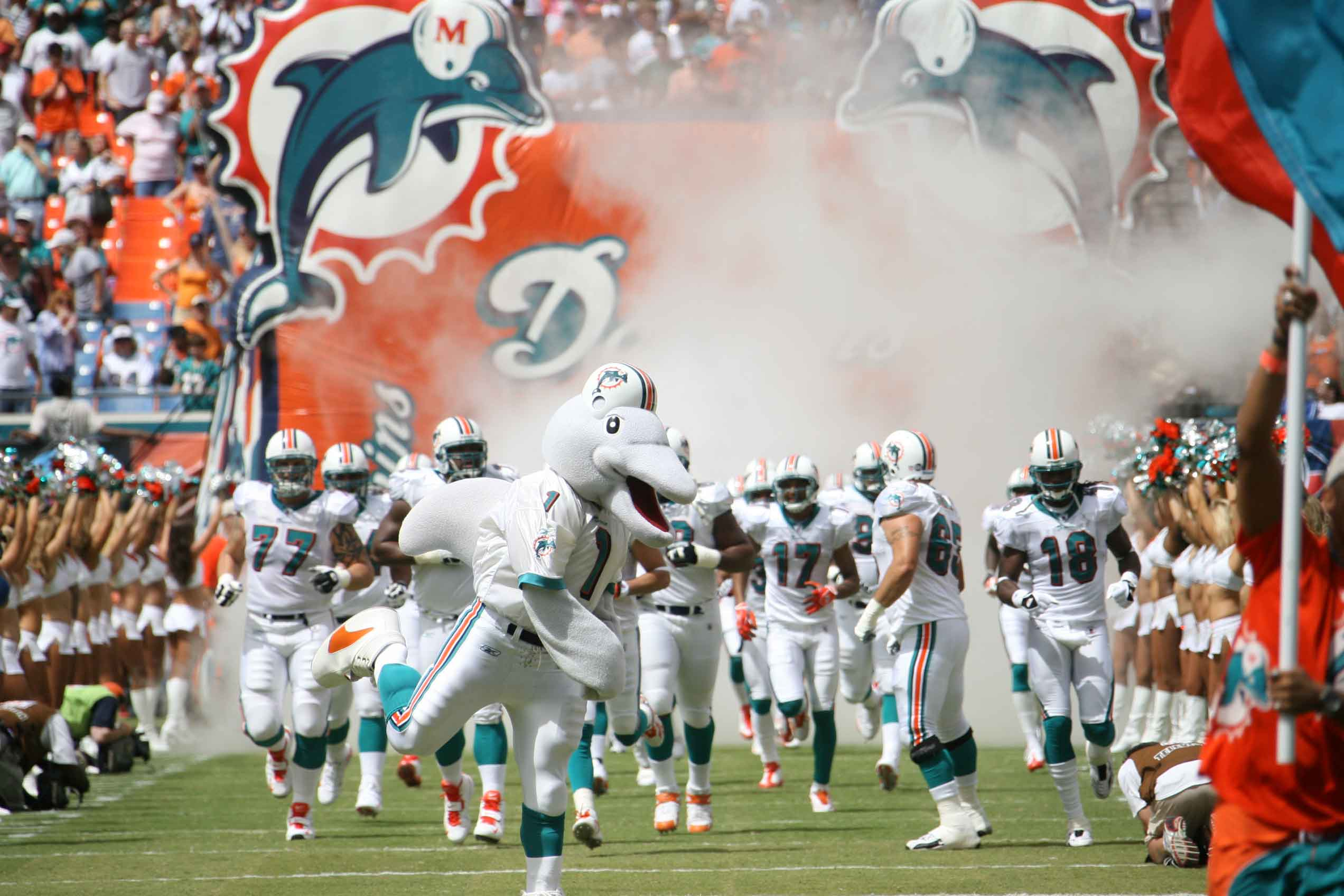 Miami Dolphins owner All our players will be standing for national anthem