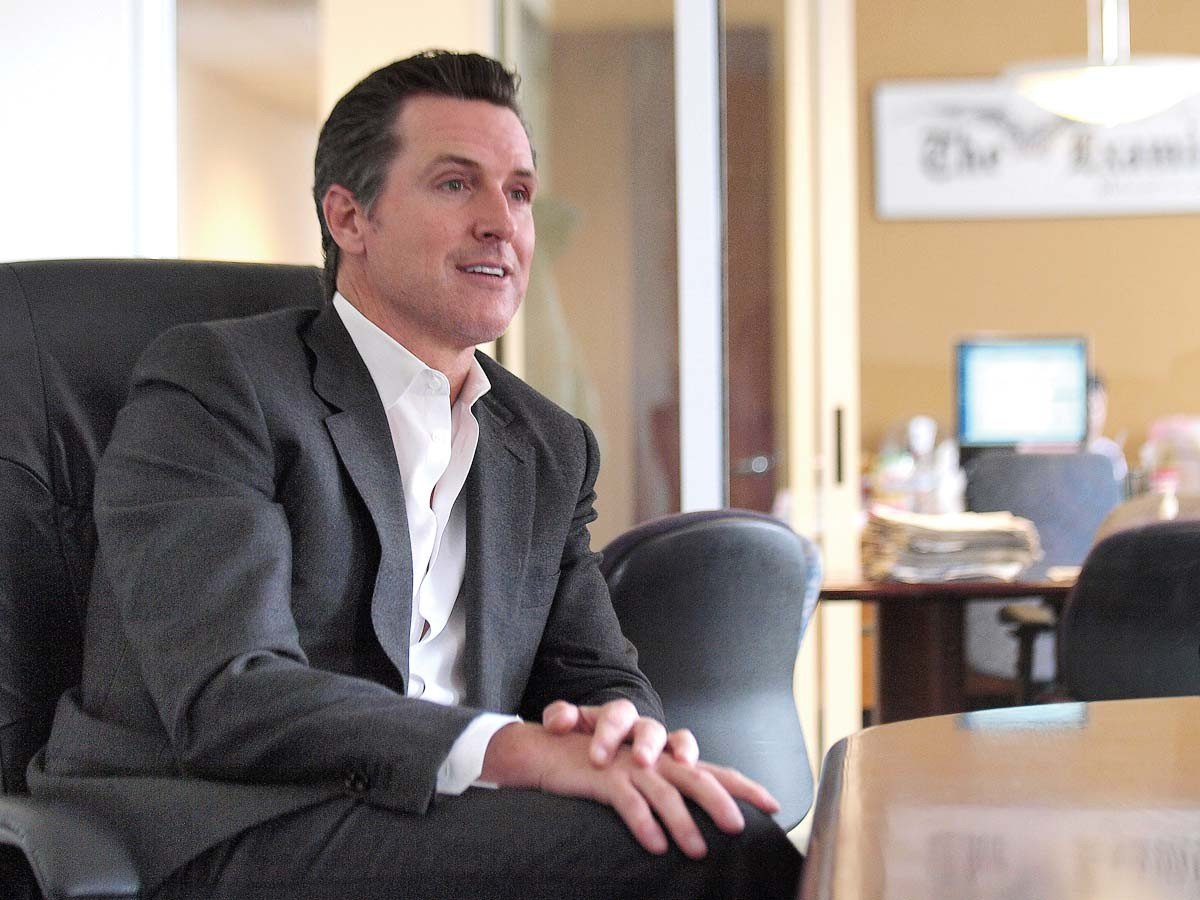 California Lt Gov Newsom Says He Couldnt Be More Proud to Be Called Embarrassment by Sessions