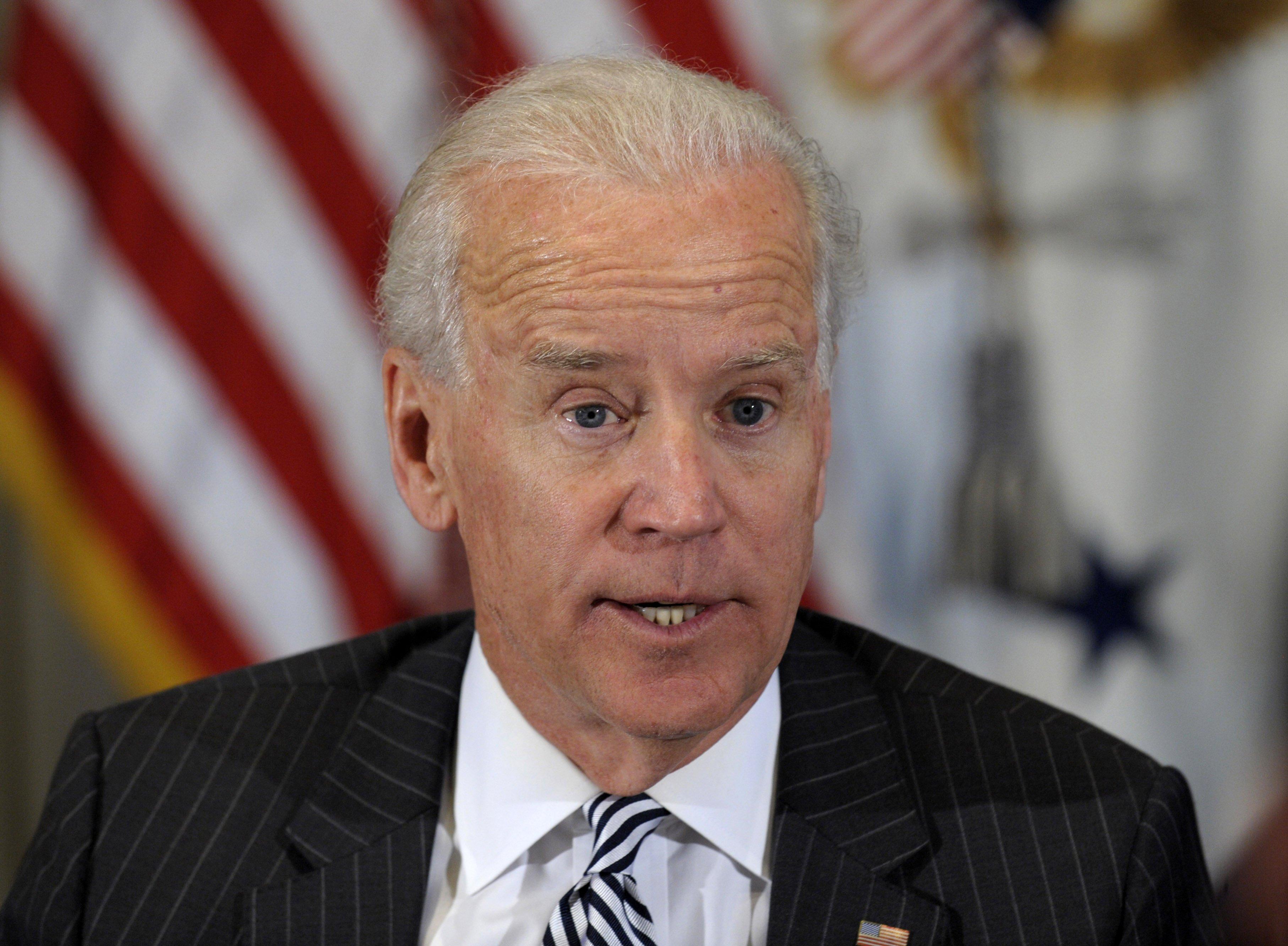 Joe Biden blasts gunrights groups prostitution of Second Amendment