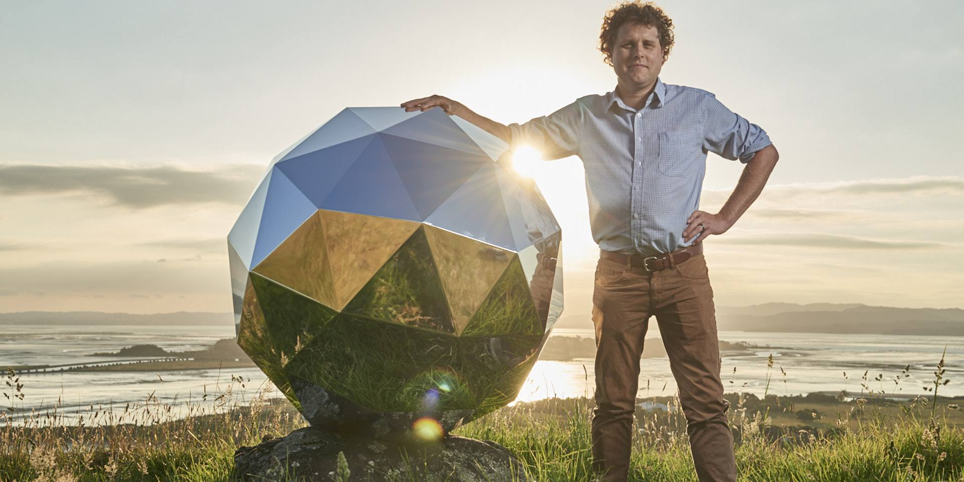 The big fake star that Rocket Lab sent into orbit is falling back down to Earth