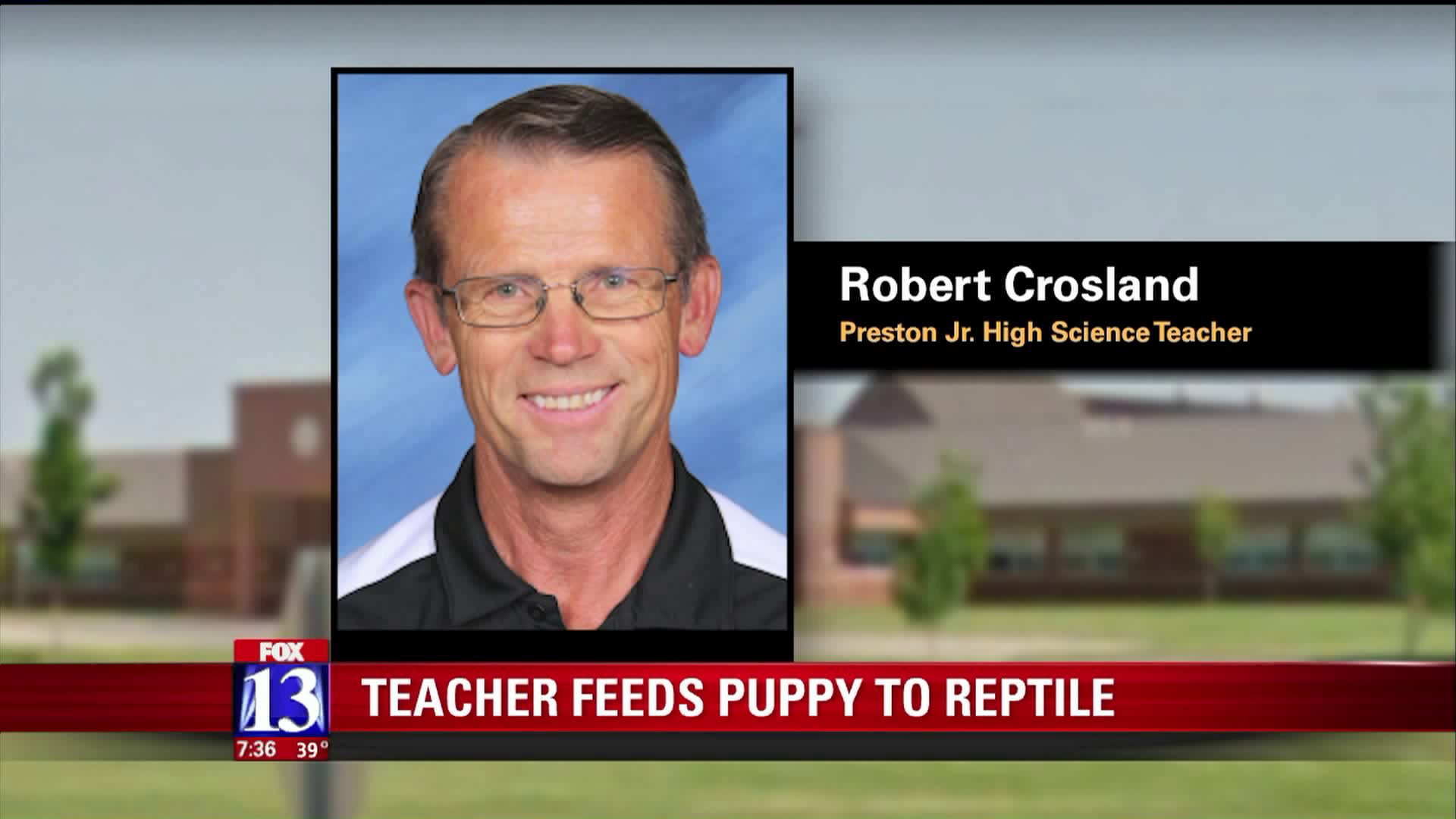 VIDEO Teacher accused of feeding puppy to snapping turtle in front of traumatized grade school students