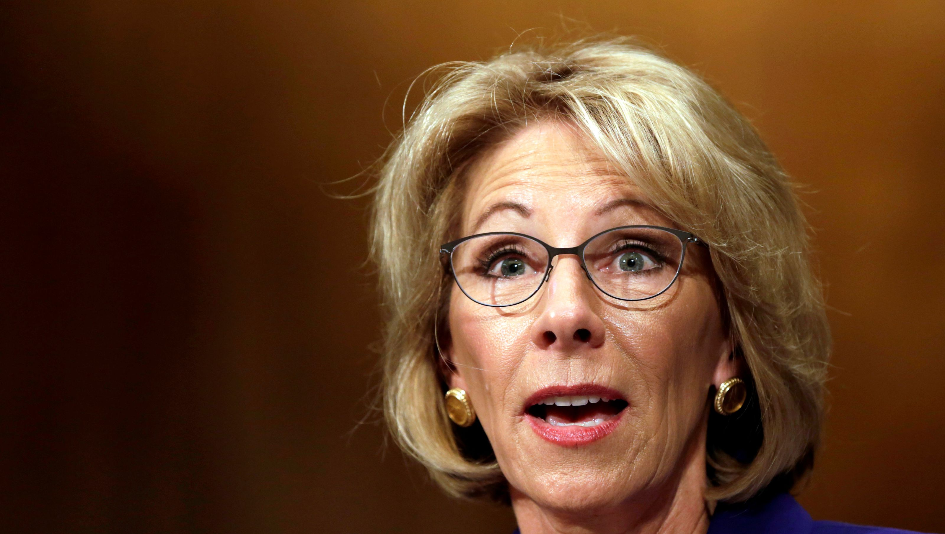 DeVos Were Investigating An ObamaEra Rule That Might Have Let Florida Shooter Off The Hook