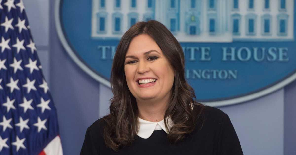 BOOM Sarah Sanders Blasts CNNs Acosta For Snarky Tweet After Briefing